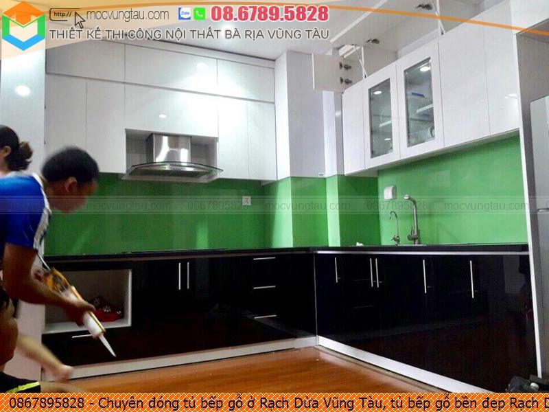 Chuyên đóng tủ bếp gỗ ở Rạch Dừa Vũng Tàu, tủ bếp gỗ bền đẹp Rạch Dừa Vũng Tàu uy tín Hotline 0867895828