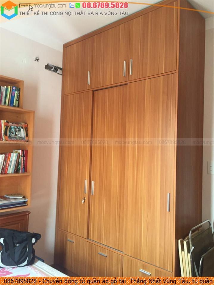 Chuyên đóng tủ quần áo gỗ tại  Thắng Nhất Vũng Tàu, tủ quần áo gỗ đẹp  Thắng Nhất Vũng Tàu uy tín Hotline 086-789-5828