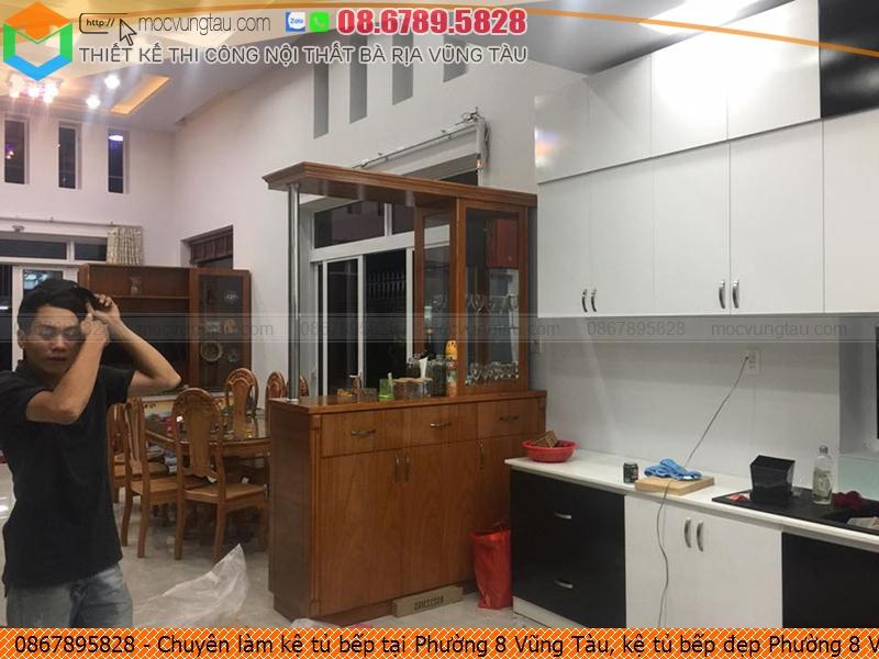 Chuyên làm kệ tủ bếp tại Phường 8 Vũng Tàu, kệ tủ bếp đẹp Phường 8 Vũng Tàu uy tín Hotline 08.6789.5828 572619DXZ