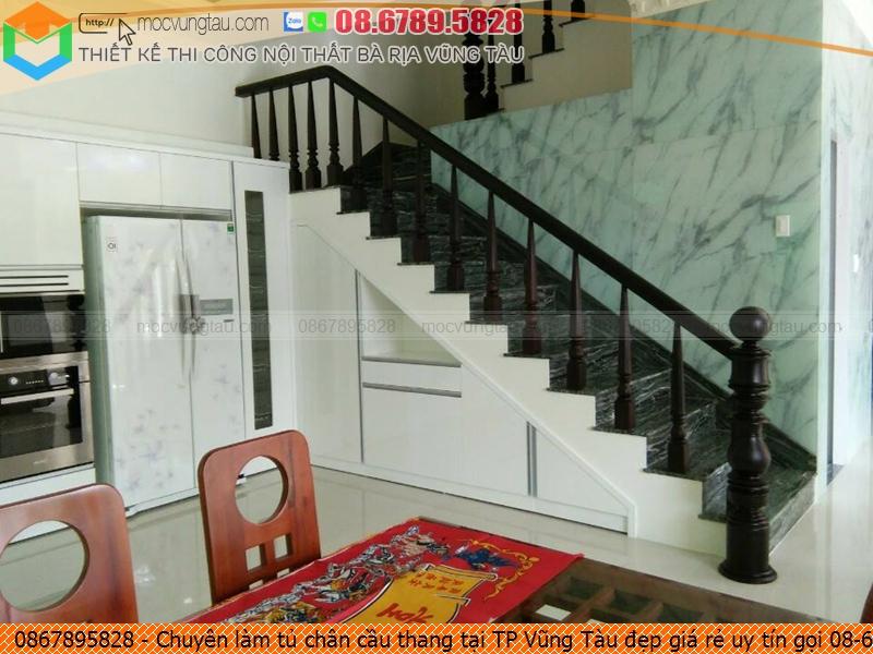 Chuyên làm tủ chân cầu thang tại TP Vũng Tàu đẹp giá rẻ uy tín gọi 08-6789-5828