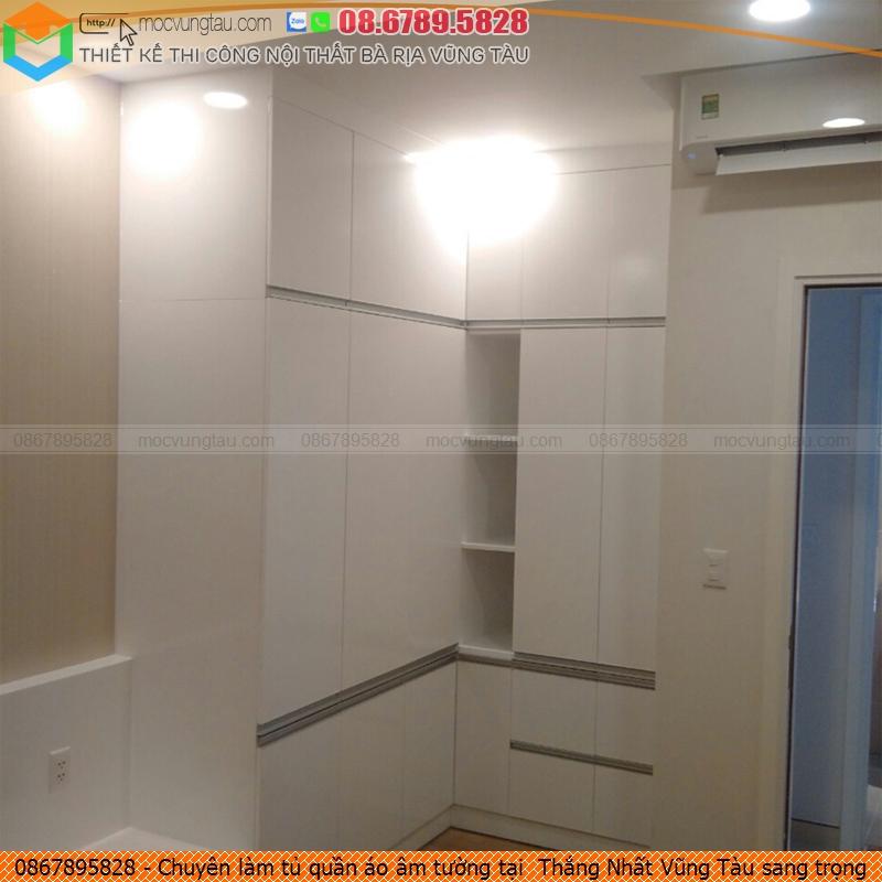 Chuyên làm tủ quần áo âm tường tại  Thắng Nhất Vũng Tàu sang trọng  gọi Hotline 086-789-5828