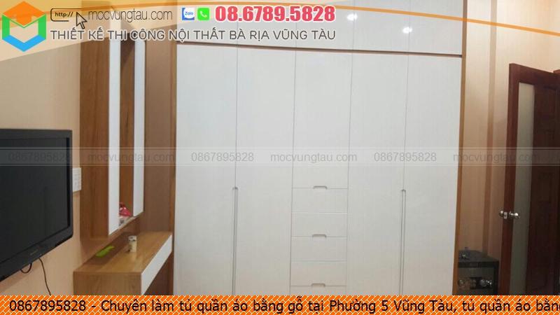 Chuyên làm tủ quần áo bằng gỗ tại Phường 5 Vũng Tàu, tủ quần áo bằng gỗ đẹp Phường 5 Vũng Tàu chuyên nghiệp gọi Hotline 08.678.95.828