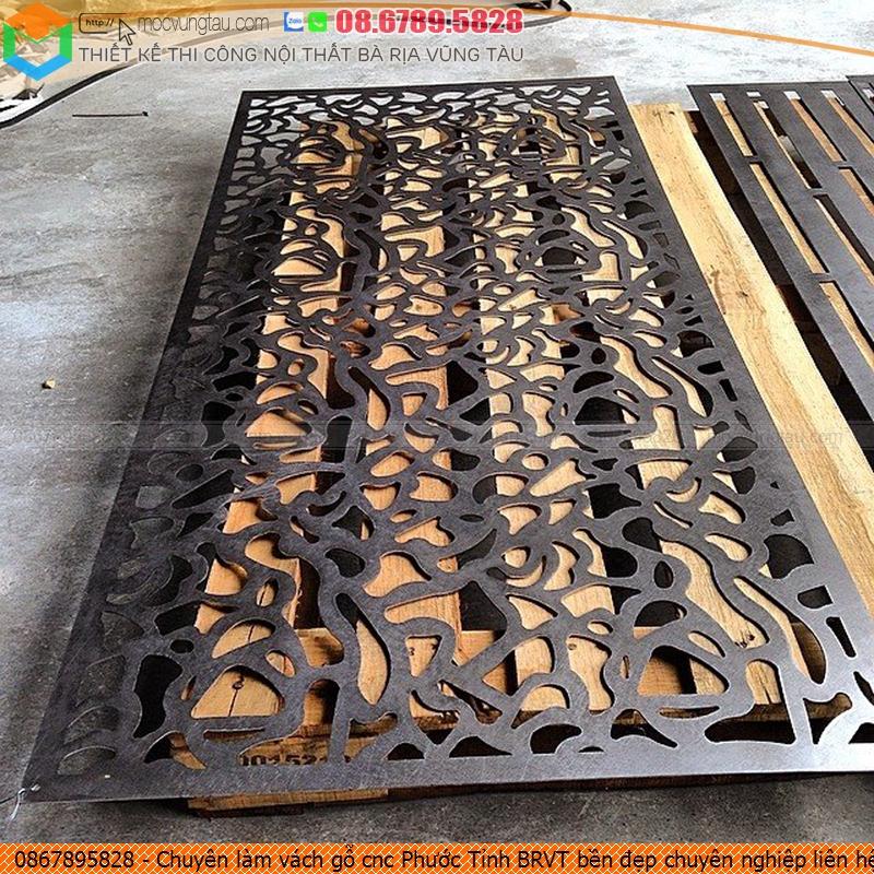 Chuyên làm vách gỗ cnc Phước Tỉnh BRVT bền đẹp chuyên nghiệp liên hệ Hotline 08.6789.5828