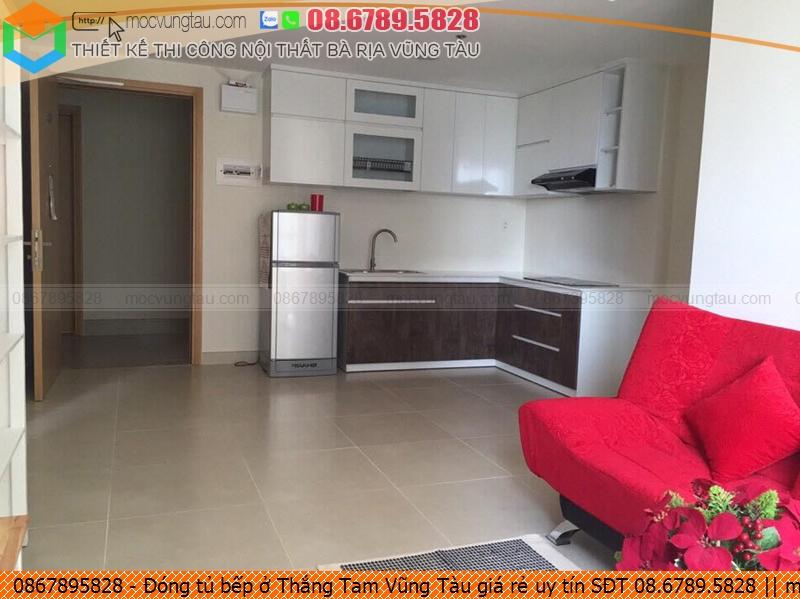 Đóng tủ bếp ở Thắng Tam Vũng Tàu giá rẻ uy tín SĐT 08.6789.5828