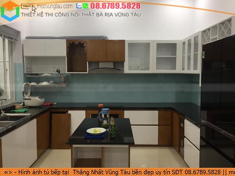 Hình ảnh tủ bếp tại  Thắng Nhất Vũng Tàu bền đẹp uy tín SĐT 08.6789.5828