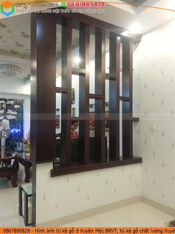Hình ảnh tủ kệ gỗ ở Xuyên Mộc BRVT, tủ kệ gỗ chất lượng Xuyên Mộc BRVT uy tín 086789.5828