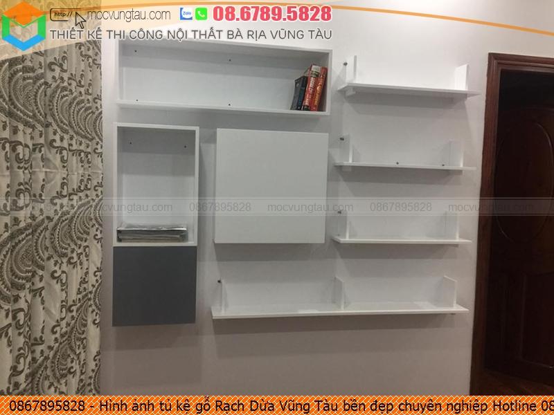 Hình ảnh tủ kệ gỗ Rạch Dừa Vũng Tàu bền đẹp chuyên nghiệp Hotline 08.6789.5828