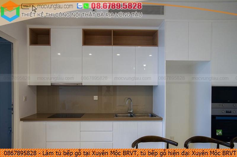 Làm tủ bếp gỗ tại Xuyên Mộc BRVT, tủ bếp gỗ hiện đại Xuyên Mộc BRVT chuyên nghiệp liên hệ SĐT 08-6789-5828