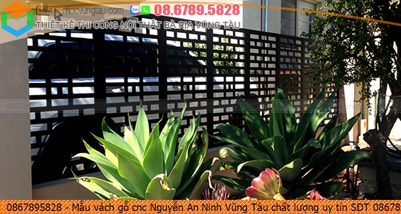 Mẫu vách gỗ cnc Nguyễn An Ninh Vũng Tàu chất lượng uy tín SĐT 0867895828