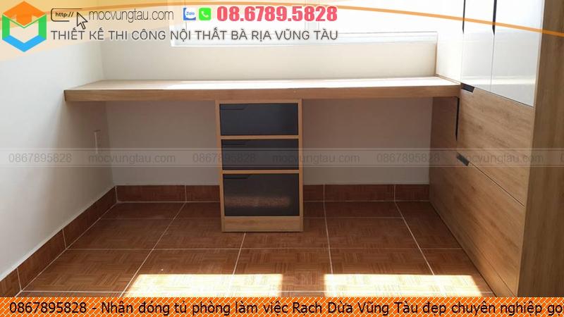Nhận đóng tủ phòng làm việc Rạch Dừa Vũng Tàu đẹp chuyên nghiệp gọi Hotline 0867895828