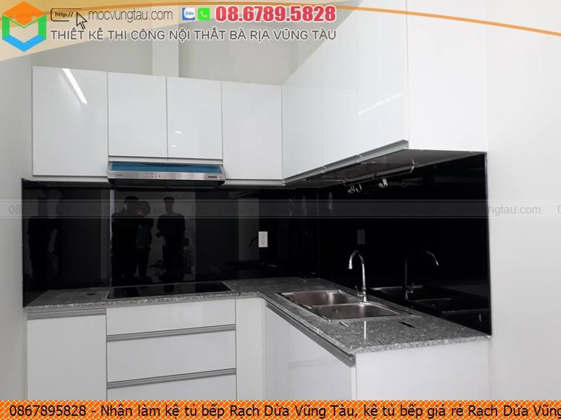 Nhận làm kệ tủ bếp Rạch Dừa Vũng Tàu, kệ tủ bếp giá rẻ Rạch Dừa Vũng Tàu uy tín liên hệ Hotline 086.789.5828