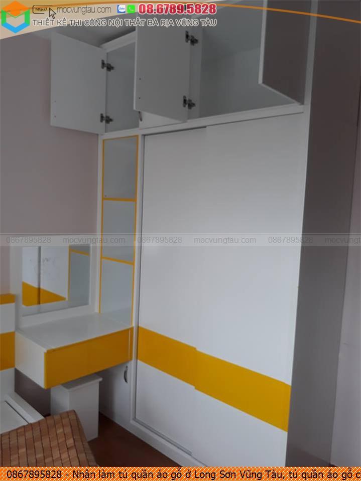 Nhận làm tủ quần áo gỗ ở Long Sơn Vũng Tàu, tủ quần áo gỗ chất lượng Long Sơn Vũng Tàu uy tín gọi 08-6789-5828