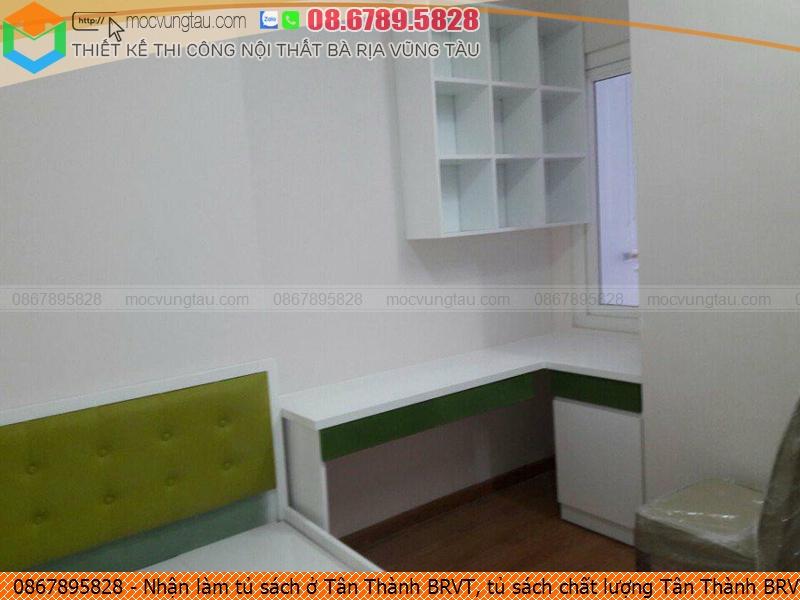 Nhận làm tủ sách ở Tân Thành BRVT, tủ sách chất lượng Tân Thành BRVT uy tín Hotline 0867895828