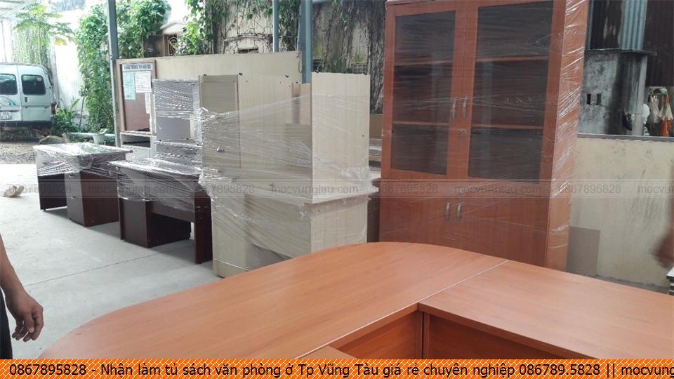 Nhận làm tủ sách văn phòng ở Tp Vũng Tàu giá rẻ chuyên nghiệp 086789.5828