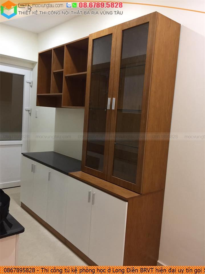Thi công tủ kệ phòng học ở Long Điền BRVT hiện đại uy tín gọi SĐT 08.6789.5828