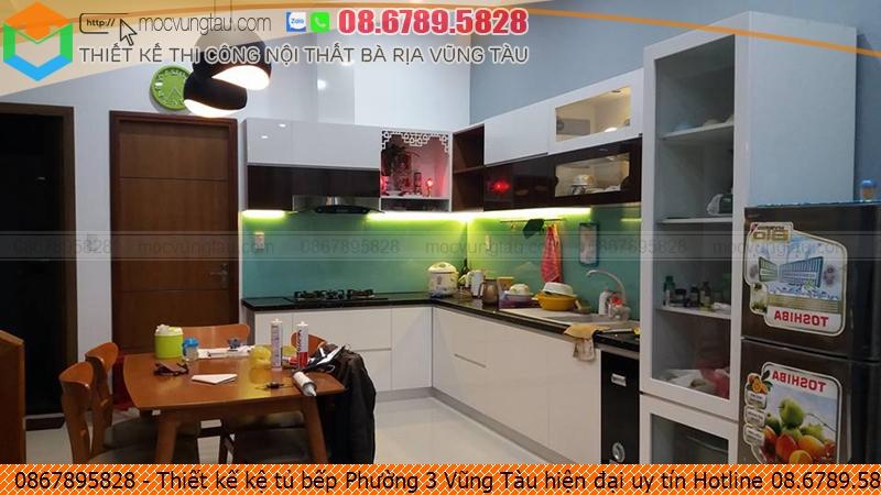 Thiết kế kệ tủ bếp Phường 3 Vũng Tàu hiện đại uy tín Hotline 08.6789.5828 252619A6A