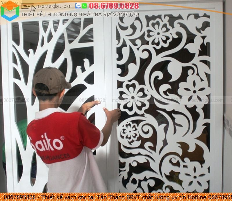 Thiết kế vách cnc tại Tân Thành BRVT chất lượng uy tín Hotline 0867895828