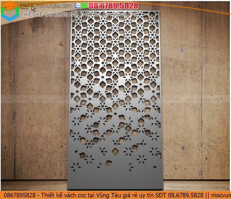 Thiết kế vách cnc tại Vũng Tàu giá rẻ uy tín SĐT 08.6789.5828