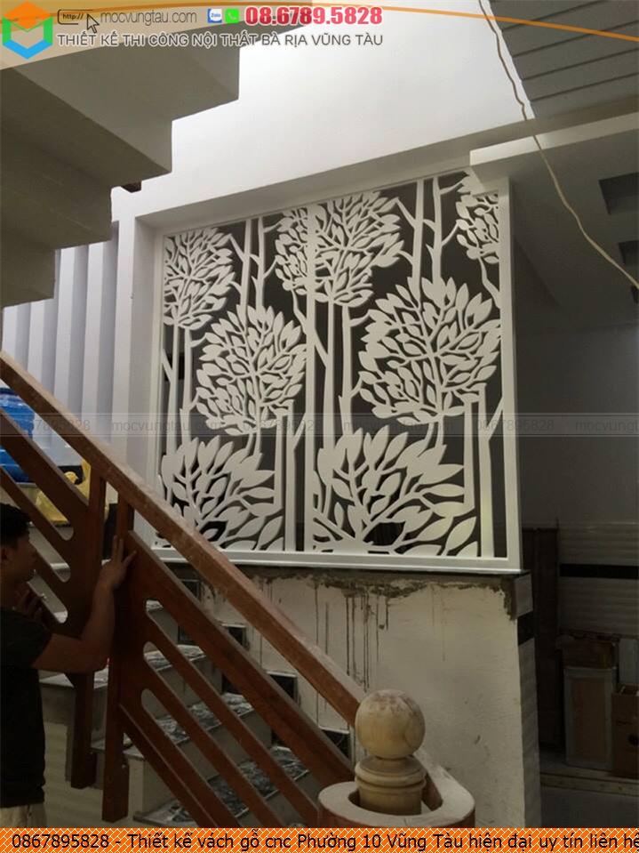 Thiết kế vách gỗ cnc Phường 10 Vũng Tàu hiện đại uy tín liên hệ 0867895828