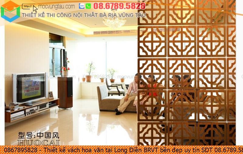 Thiết kế vách hoa văn tại Long Điền BRVT bền đẹp uy tín SĐT 08.6789.5828