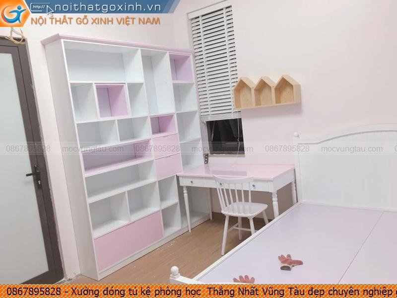 Xưởng đóng tủ kệ phòng học  Thắng Nhất Vũng Tàu đẹp chuyên nghiệp gọi SĐT 0867895828