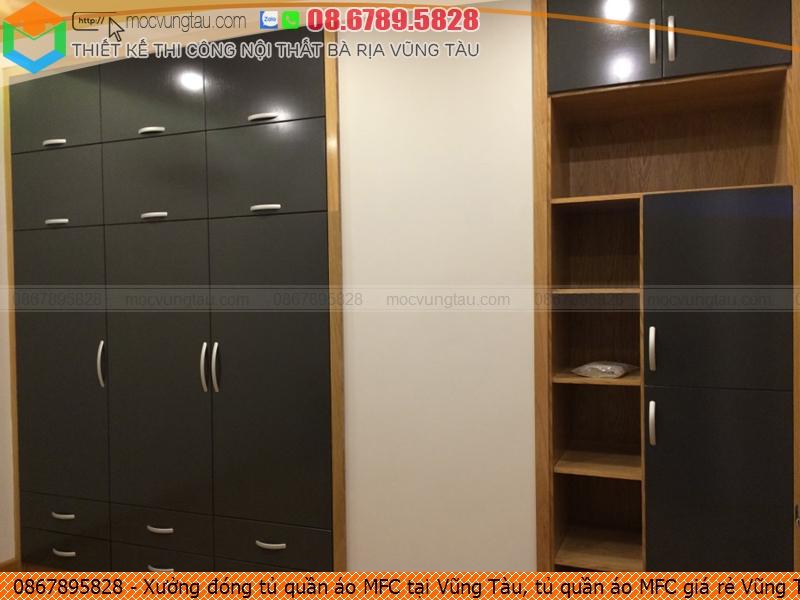 Xưởng đóng tủ quần áo MFC tại Vũng Tàu, tủ quần áo MFC giá rẻ Vũng Tàu chuyên nghiệp liên hệ SĐT 08-6789-5828