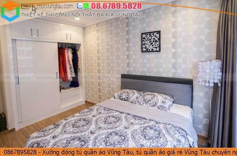 Xưởng đóng tủ quần áo Vũng Tàu, tủ quần áo giá rẻ Vũng Tàu chuyên nghiệp liên hệ SĐT 08.678.95.828