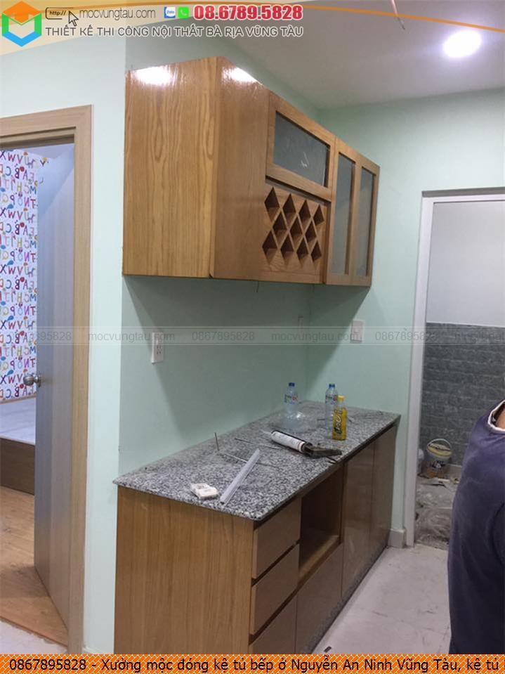 Xưởng mộc đóng kệ tủ bếp ở Nguyễn An Ninh Vũng Tàu, kệ tủ bếp đẹp Nguyễn An Ninh Vũng Tàu chuyên nghiệp SĐT 08-6789-5828