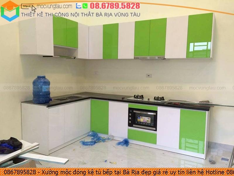 Xưởng mộc đóng kệ tủ bếp tại Bà Rịa đẹp giá rẻ uy tín liên hệ Hotline 086.789.5828 3326193H3