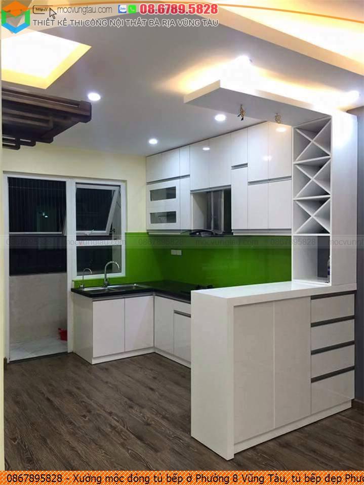 Xưởng mộc đóng tủ bếp ở Phường 8 Vũng Tàu, tủ bếp đẹp Phường 8 Vũng Tàu chuyên nghiệp Hotline 08-6789-5828 572619S1A