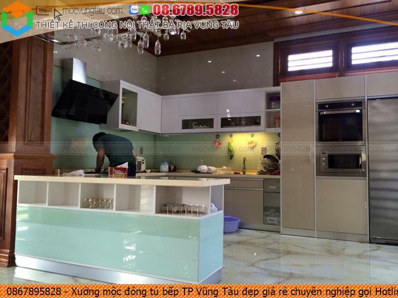 Xưởng mộc đóng tủ bếp TP Vũng Tàu đẹp giá rẻ chuyên nghiệp gọi Hotline 086789.5828 5926194EG