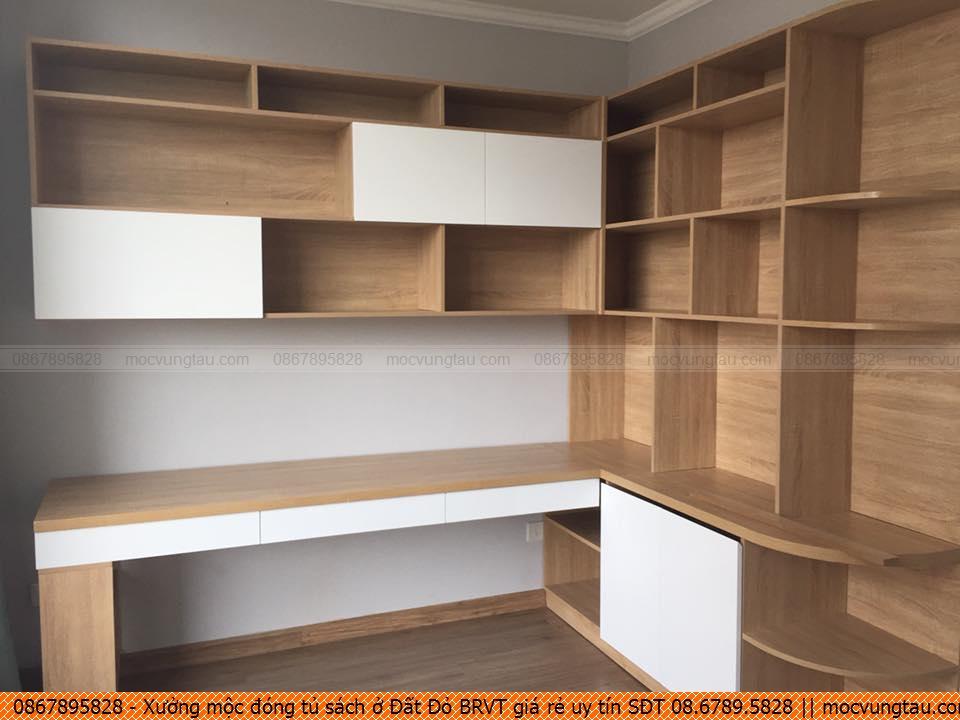 Xưởng mộc đóng tủ sách ở Đất Đỏ BRVT giá rẻ uy tín SĐT 08.6789.5828