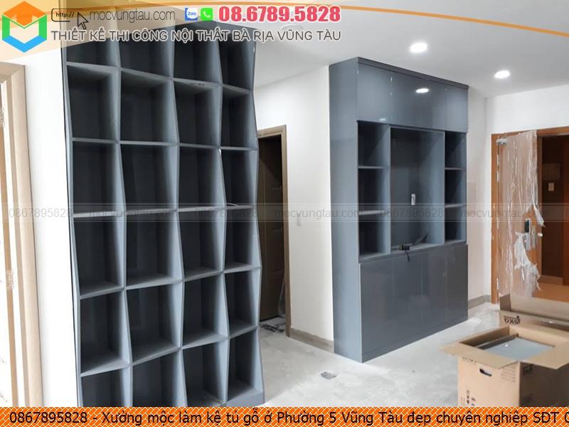 Xưởng mộc làm kệ tủ gỗ ở Phường 5 Vũng Tàu đẹp chuyên nghiệp SĐT 086.789.5828